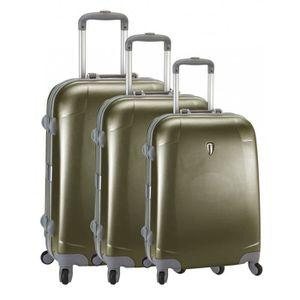 SET DE VALISES Set de 3 valises 4 roues original robust II beige
