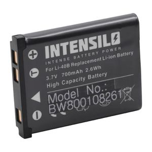 Q10 2x BATTERY INTENSILO 750mAh for Pentax Q Q7 Q-S1