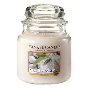taille moyenne collection No/ël alpin Yankee Candle bougie jarre parfum/ée jusqu/'/à 75/heures de combustion Soir/ée au chalet