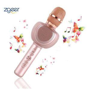 HAUT-PARLEUR - MICRO Microphone Sans Fil Karaoké, Karaoké Portable pour
