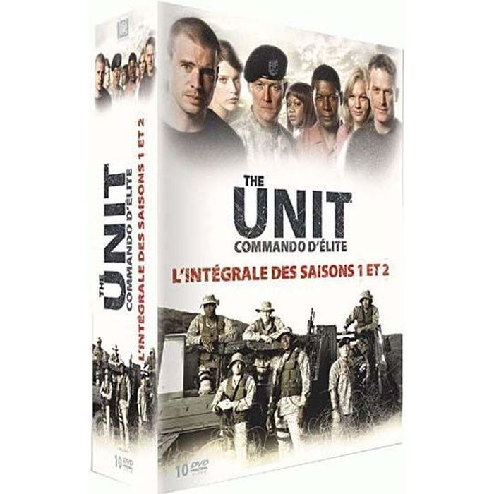 dvd coffret the unit saisons 1 et 2 en dvd s rie pas cher. Black Bedroom Furniture Sets. Home Design Ideas
