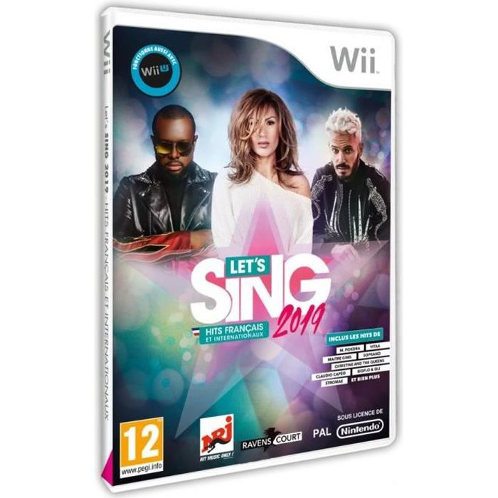 Let's Sing 2019 Hits français et internationaux Jeu Wii
