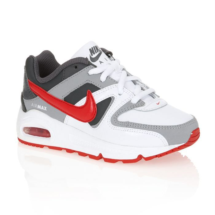 57637ac134b NIKE Basket Air Max Command Enfant Blanc