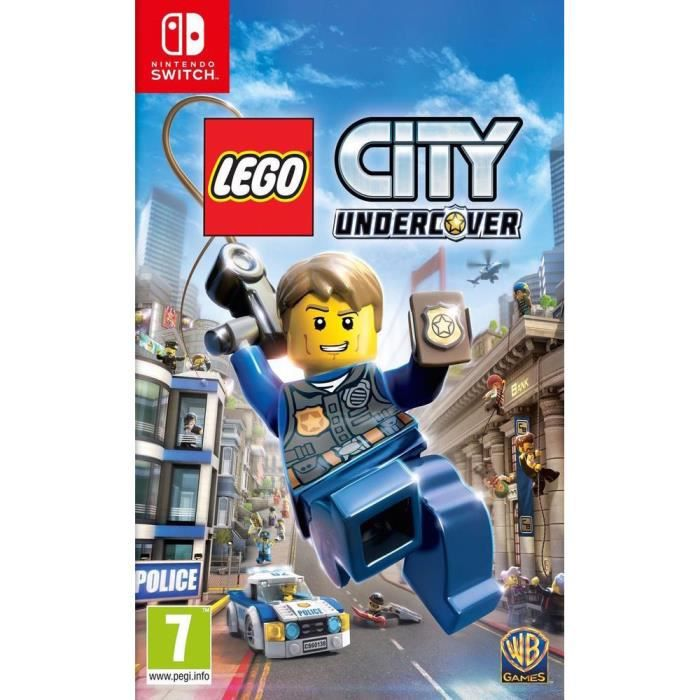NINTENDO SWITCH LEGO City Undercover Jeu Switch
