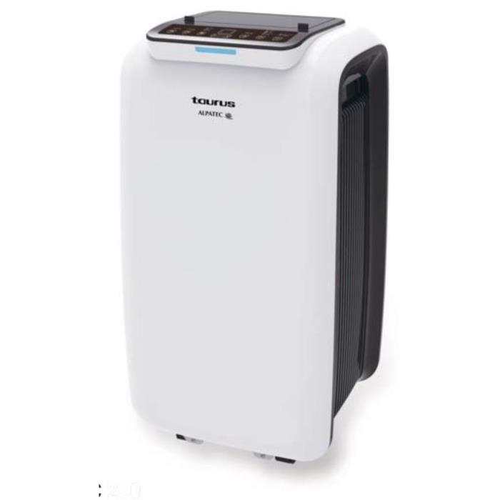 TAURUS AC 280 KT Climatiseur mobile 2640 watts - 9000 Btu - Programmable - Silencieux - Kit fenêtre inclus