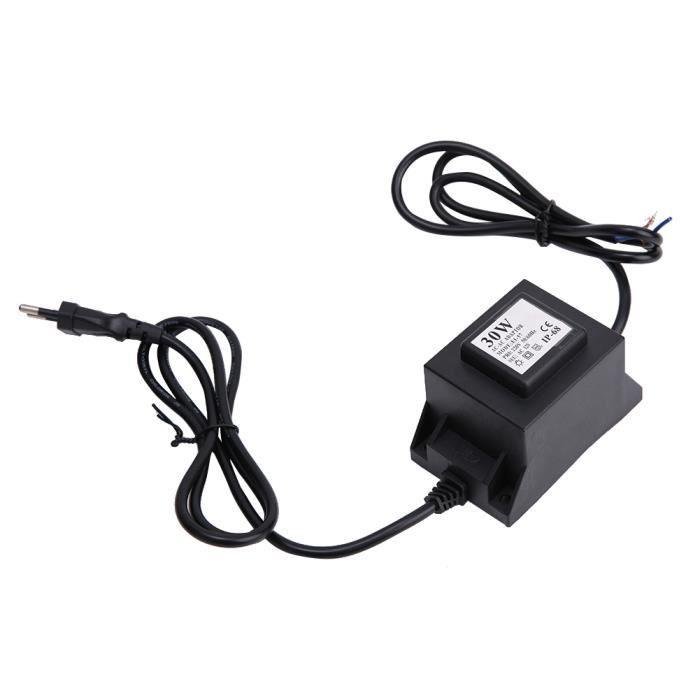 BOYOU Transformateur étanche 220V à 12V étanche pour éclairage