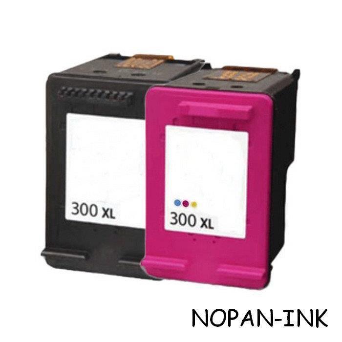 2 cartouches compatibles HP 300XL - 1BK-1CL - Deskjet D -5563