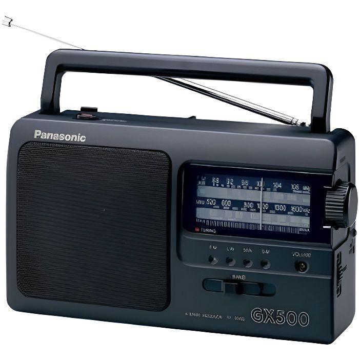 Poste radio transistor Noir - Radio portable FM