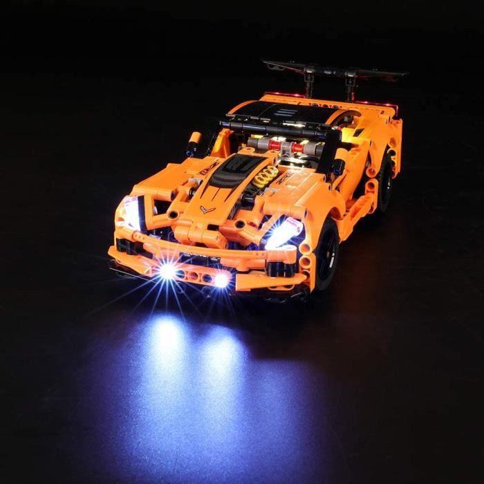 Jeux de construction LIGHTAILING Jeu De Lumières pour (Technic Chevrolet Corvette ZR1) Modèle en Blocs De Construction - 52756