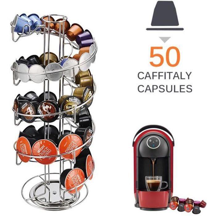 24-40 tasses métal noir café Capsule support de rangement café dosettes support fer chromé support pour Dolce Gusto Caps*DI2205