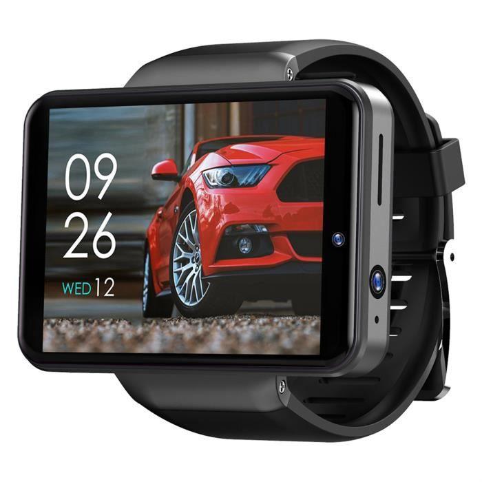 TICWRIS MAX S 2.4 pouces 3GB + 32GB LCD 2000mAh SmartWatch pour téléphone Android 7.1 4G - MM 317
