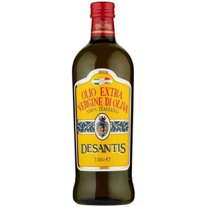 De Santis 100% huile d'olive extra vierge italienne 1 lt