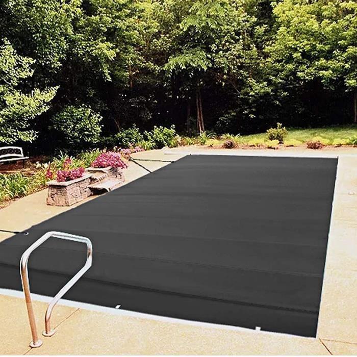 bache piscine Couverture Solaires pour Piscine- B&acircche à Bulles Filet À Feuilles Robuste Couverture De S&eacu585