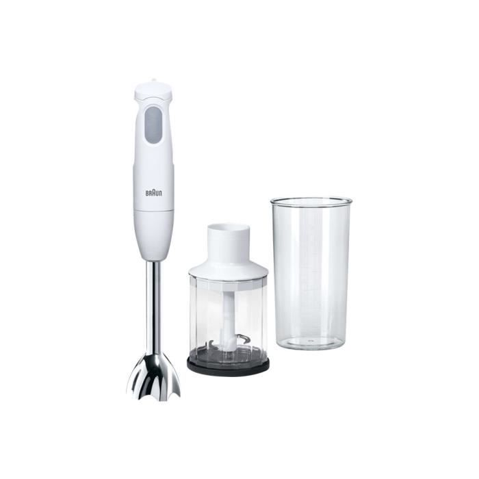 Braun Multiquick 1 MQ 120 Pesto Mixeur à main 450 Watt