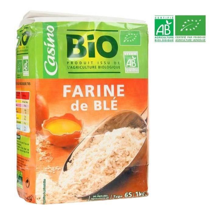 NOUVELLE ELCA Farine de blé BIO T65 - 1 kg