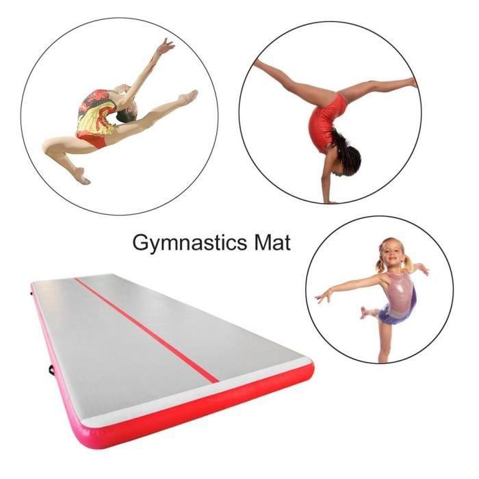 Tapis gonflable de gymnastique de plancher d'air de tapis de gymnase 300X100X10Cm pour le rouge de Taekwondo