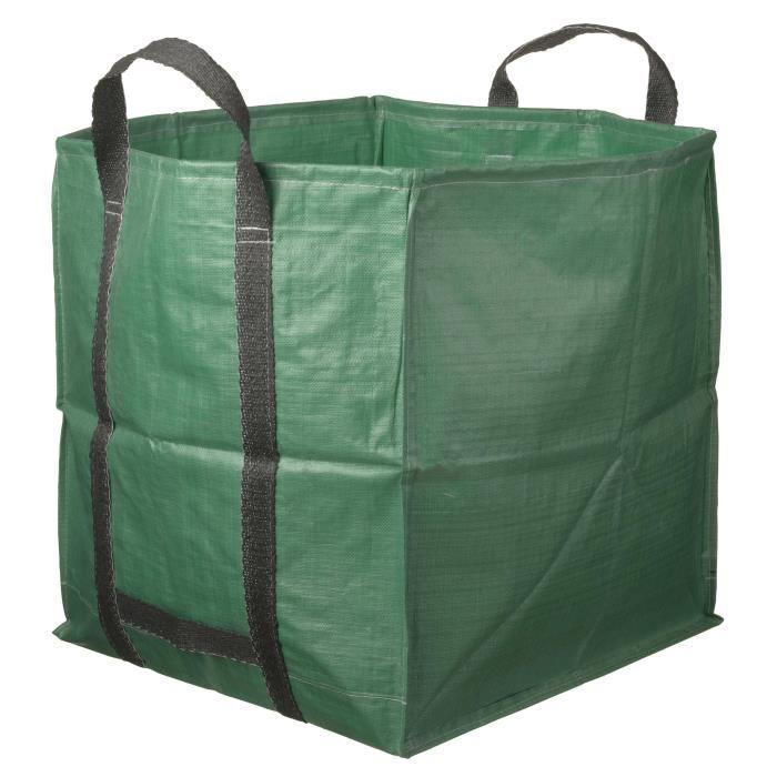 NATURE Sac à déchets multi-usages avec poignées - 325 l - 68x68x70 cm