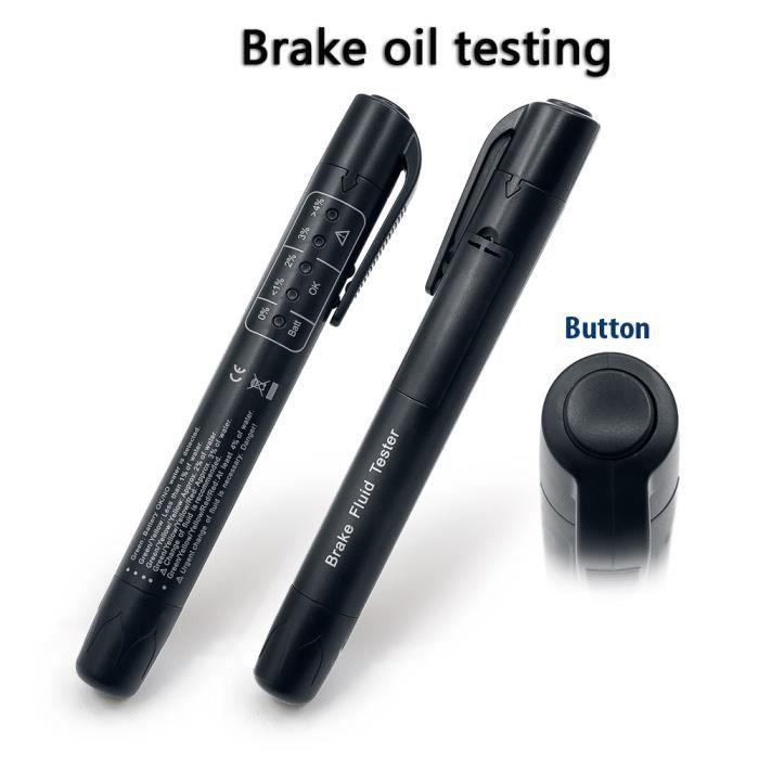 Testeur de liquide de frein Detector Testeur de qualité de liquide de frein 5 LED