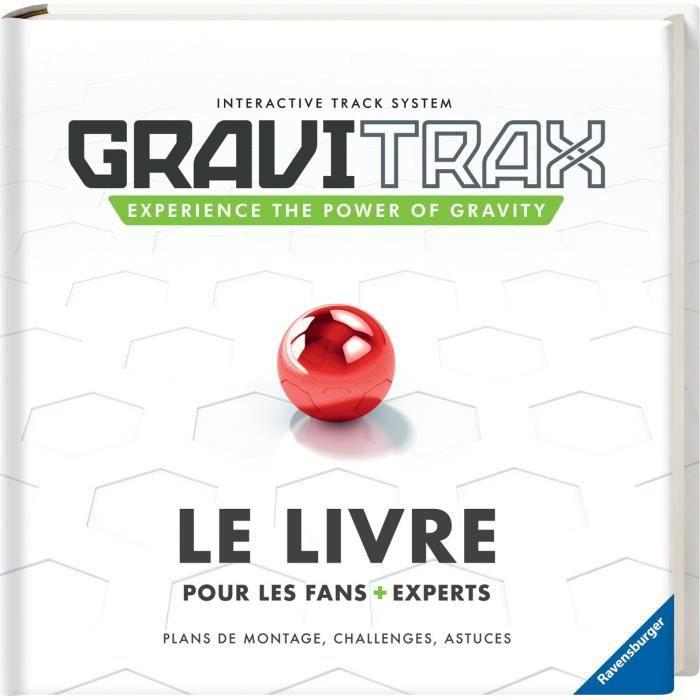 Livre GraviTrax - 110 pages d'astuces et défis - Jeu de construction STEM - Circuit de billes créatif - Ravensburger - dès 8 ans