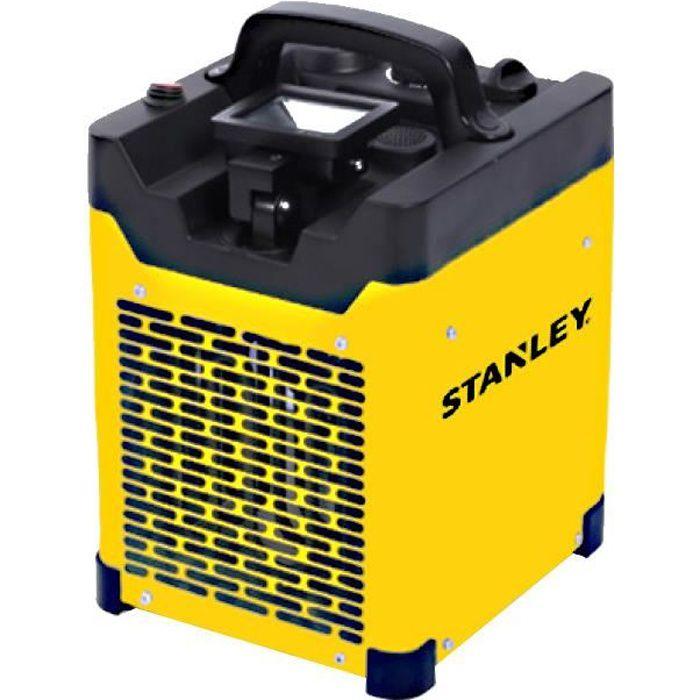 STANLEY Indus - Chauffage chantier electrique industriel - Projecteur LED Orientable - 3000W