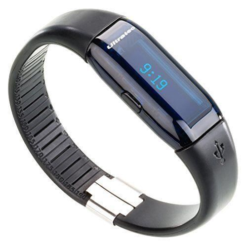 Ultrasport 331400000113 - MONTRE CARDIO - by Ultratec Active Tracker, pédomètre de fitness intelligent Smart avec appli