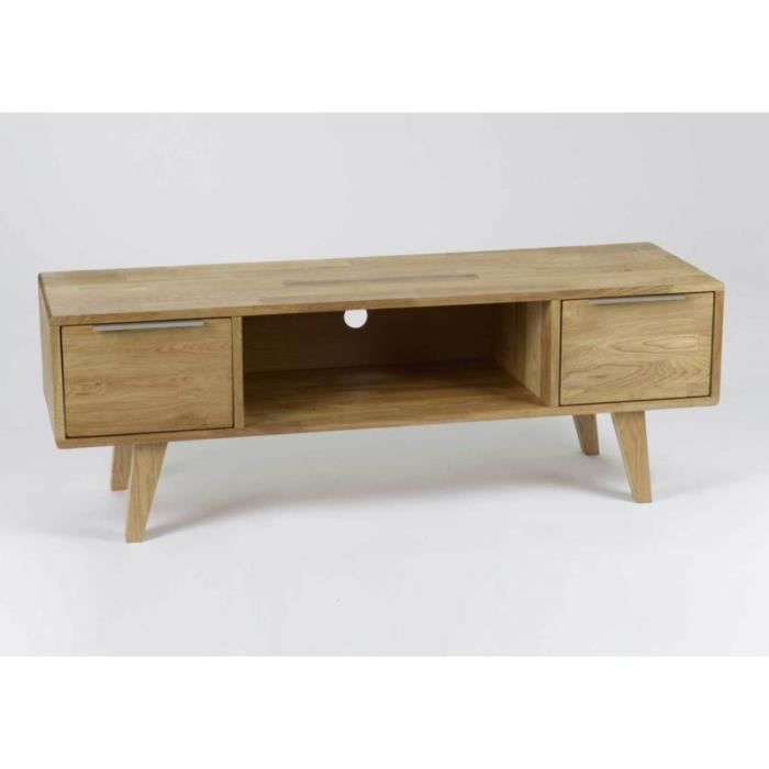 meuble tv scandinave en bois brut brut achat vente meuble tv meuble tv scandinave en boi. Black Bedroom Furniture Sets. Home Design Ideas