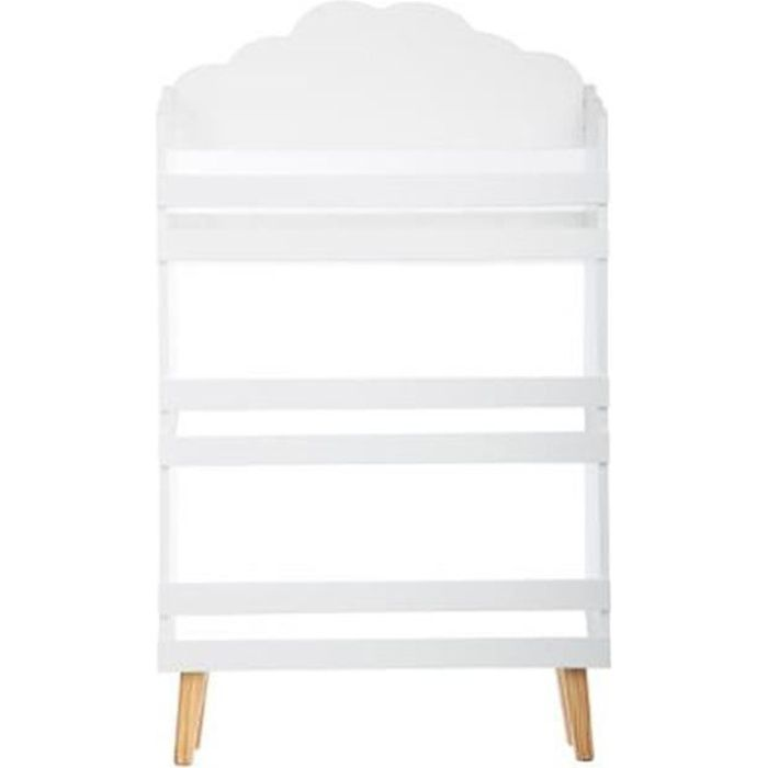 biblioth que nuage blanc autres blanc achat vente tag re biblioth que 3482731244019. Black Bedroom Furniture Sets. Home Design Ideas