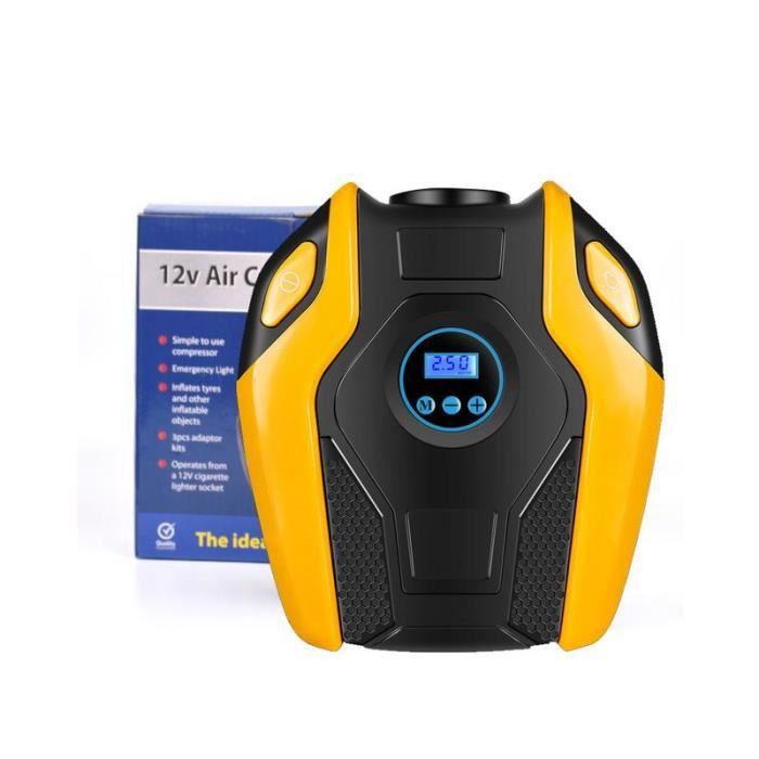 COMPRESSEUR 12V Pompe automatique de compresseur d'air de gonfleur