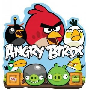 Angry birds d coration mural en mousse achat vente for Angry bird mural
