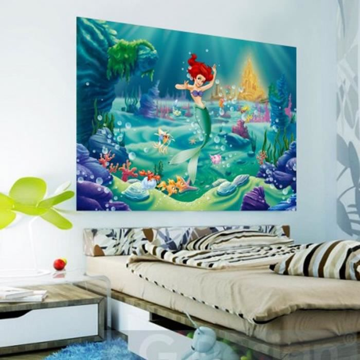 poster xxl ariel la petite sir ne princesse dis achat vente affiche poster cdiscount. Black Bedroom Furniture Sets. Home Design Ideas
