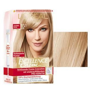 coloration excellence crme loral blond trs - Coloration Blond Beige