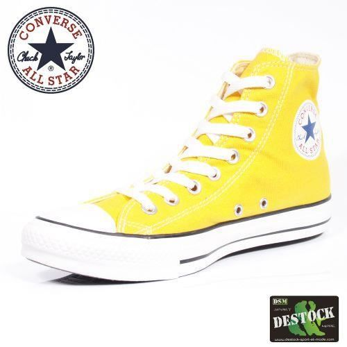 converse all star jaune pas cher