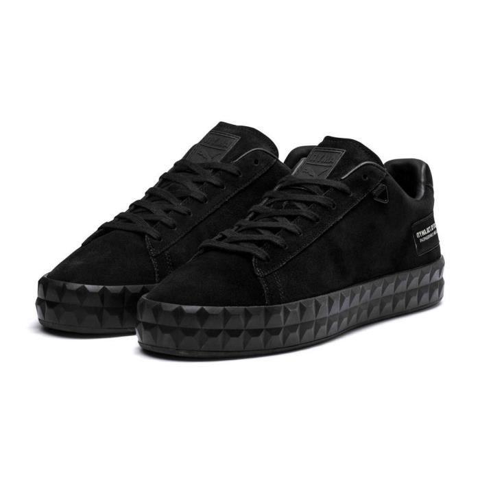 chaussures homme baskets puma select court platform o.moscow. la plate forme passe au niveau suivant avec une version de vedette: si