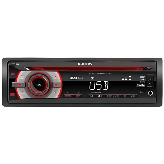 philips cem2200 autoradio cd usb 200w aur achat vente autoradio philips cem2200. Black Bedroom Furniture Sets. Home Design Ideas