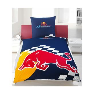 red bull parure couette 1perso lit de 90 cm achat vente parure de couette cdiscount. Black Bedroom Furniture Sets. Home Design Ideas