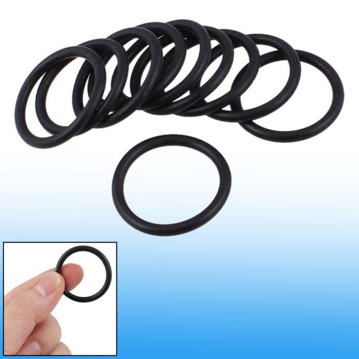 20 x 10,3 mm x 2,65 mm porte en caoutchouc Noir /étanch/éit/é O-Ring JOINT DE RETENUE DHUILE
