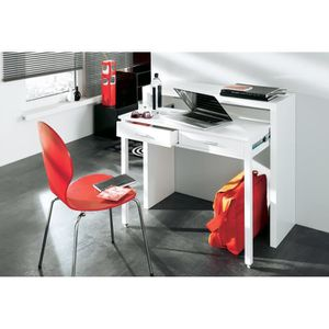 bureau console extensible achat vente bureau console extensible pas cher cdiscount. Black Bedroom Furniture Sets. Home Design Ideas