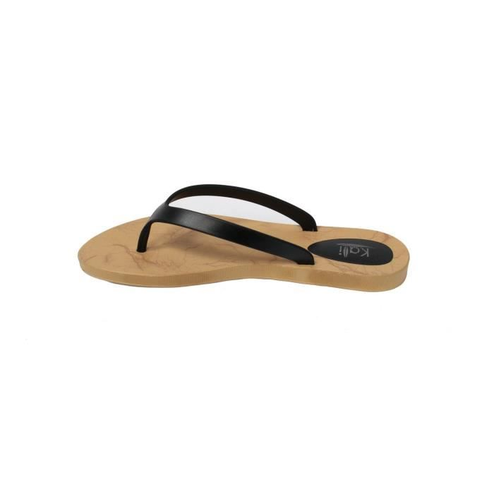 Cocoa Flat Thong Sandales pour dames K52YQ Taille-41