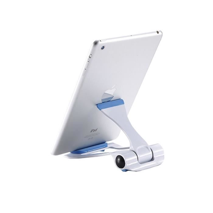 WE Support Tablette Universel 101 - Blanc - Bleu