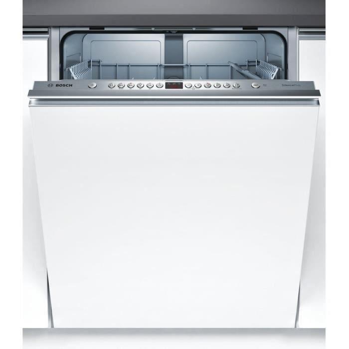 BOSCH SMV46GX01E - Lave vaisselle tout encastrable - 12 couverts - 46 dB - A++ - Larg 60 cm - Moteur induction