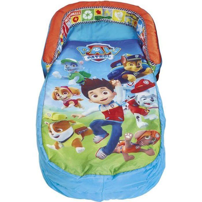 PAT PATROUILLE Lit d'Appoint / Sac de couchage enfant avec sac de transport ReadyBed - Worlds Apart