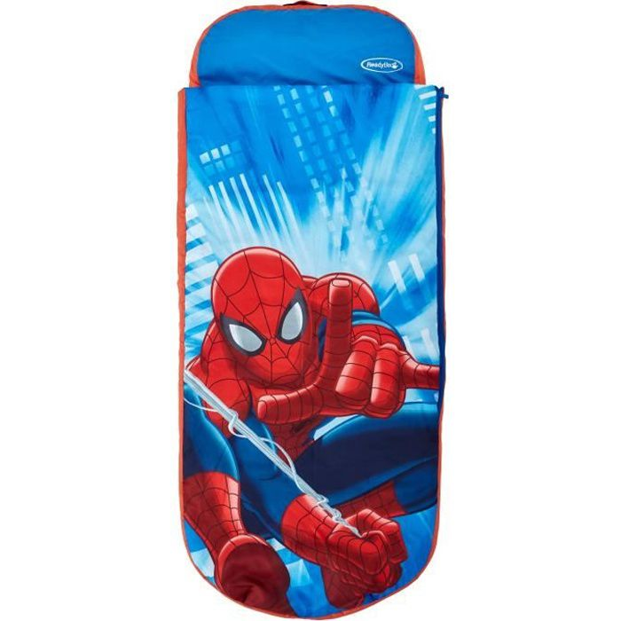 SPIDERMAN Lit d'Appoint / Sac de couchage enfant avec sac de transport ReadyBed - Worlds Apart