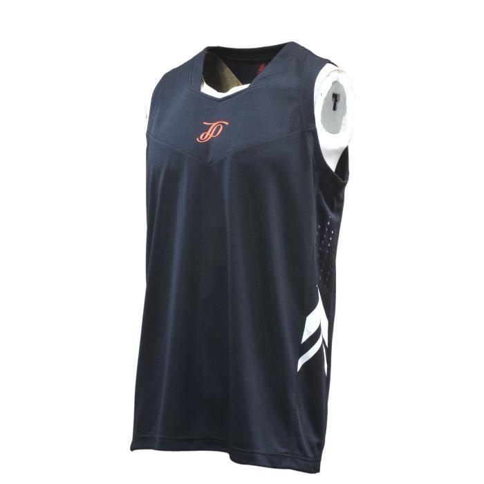 PEAK Maillot de Basket TP - Homme - Noir