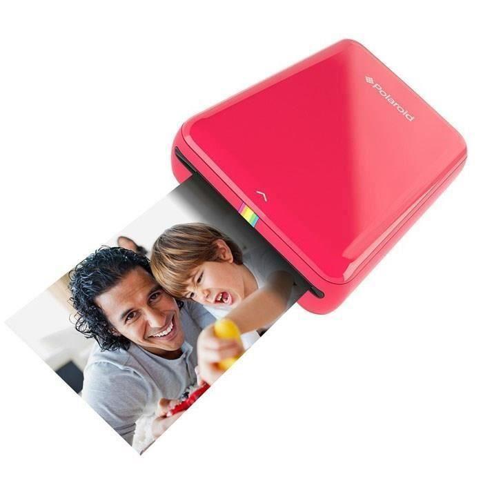 Polaroid Zip Rouge Imprimante mobile Ios / Android Bluetooth et Nfc