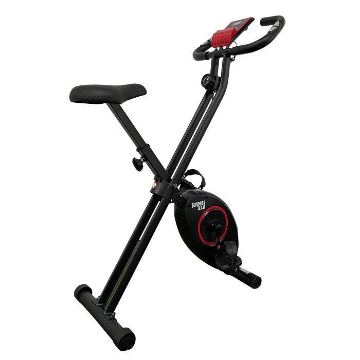 Vélo fitness X-bike 8 niveaux de résistance SURPASS 310 Handpulse