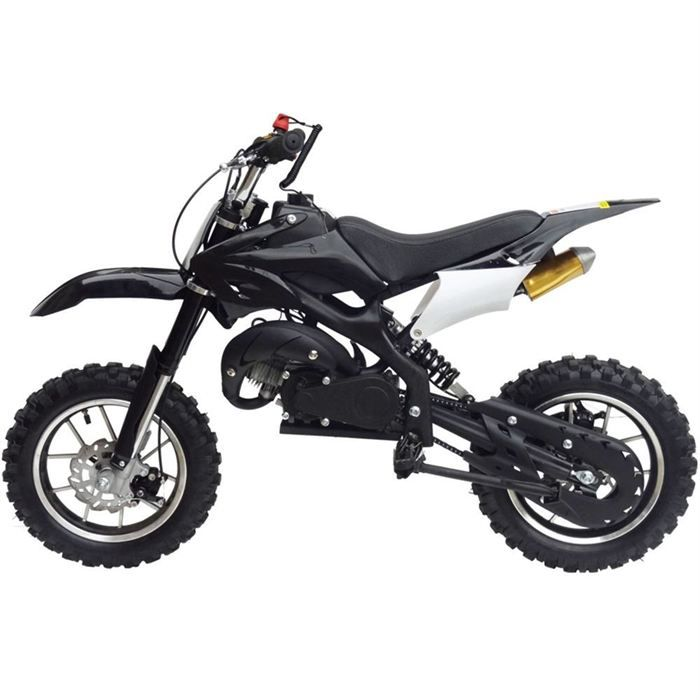 kxd moto dirt bike 50cc enfant noir achat vente moto. Black Bedroom Furniture Sets. Home Design Ideas