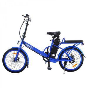 VÉLO ASSISTANCE ÉLEC MOOVWAY Vélo électrique pliable 20' – 6 vitesses –