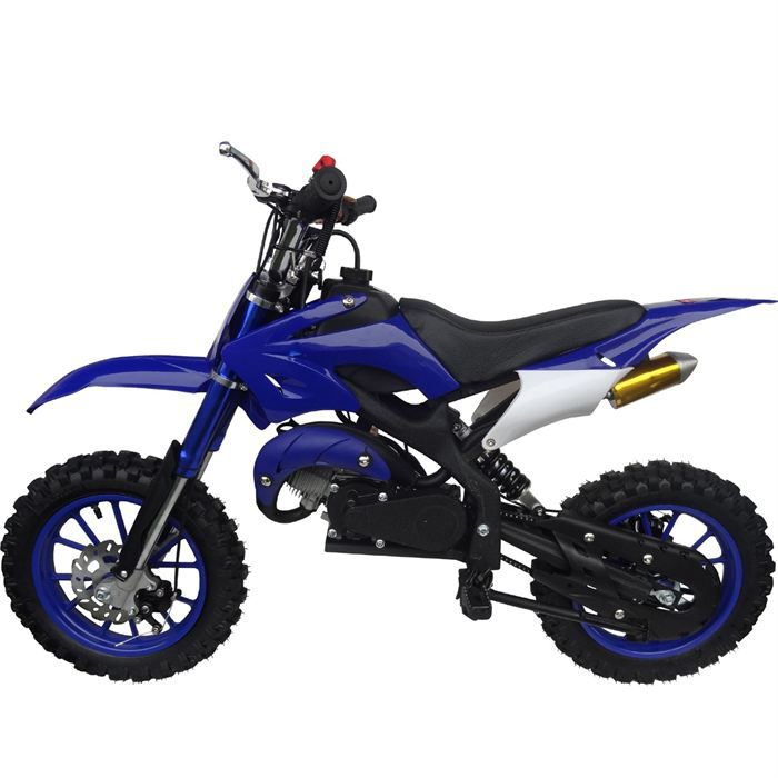 moto dirt bike 50cc enfant bleue achat vente moto moto dirt bike enfant bleue cdiscount. Black Bedroom Furniture Sets. Home Design Ideas