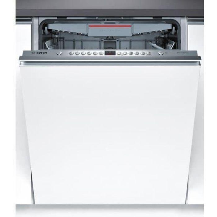 Bosch Smv46kx01e Lave Vaisselle Encastrable 13 Couverts 46db A Larg 60cm Moteur Induction Achat Vente Lave Vaisselle Cdiscount