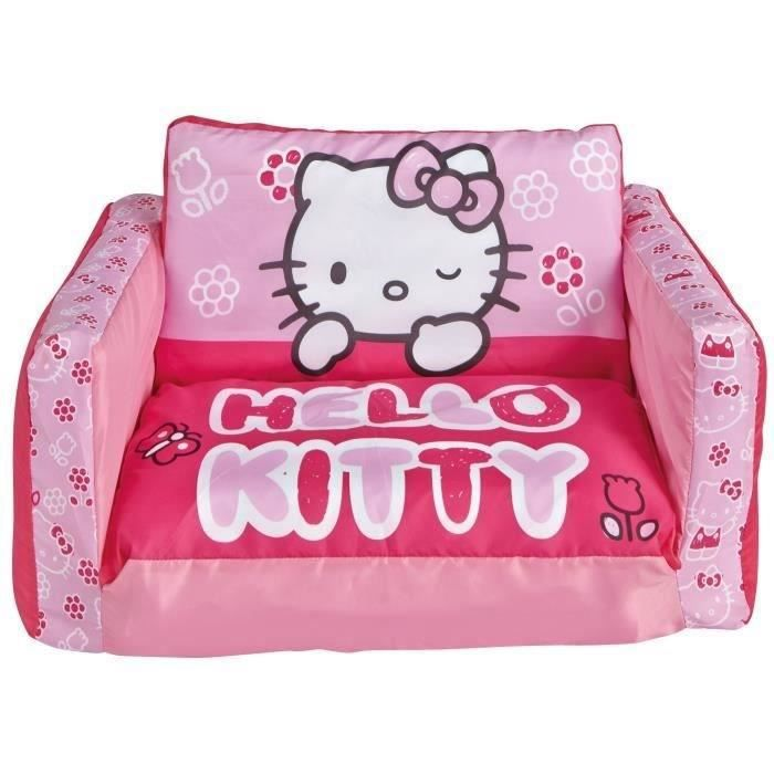 Canape lit hello kitty en mousse for Canape lit en mousse